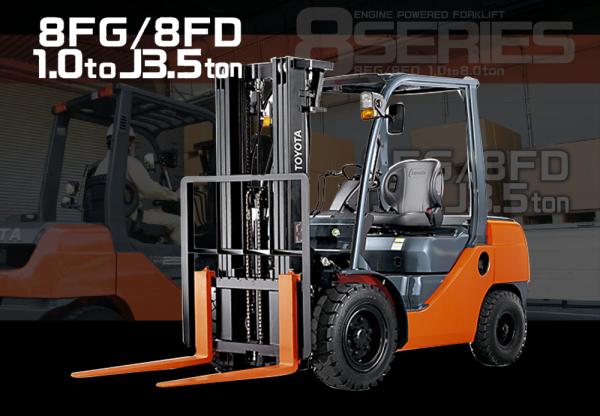 Toyota Forklift Kap. 1 - 3.5j ton