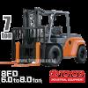 Jual Forklift Toyota 7 ton