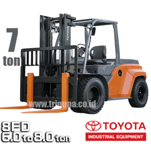 Jual Forklift Toyota 7 ton