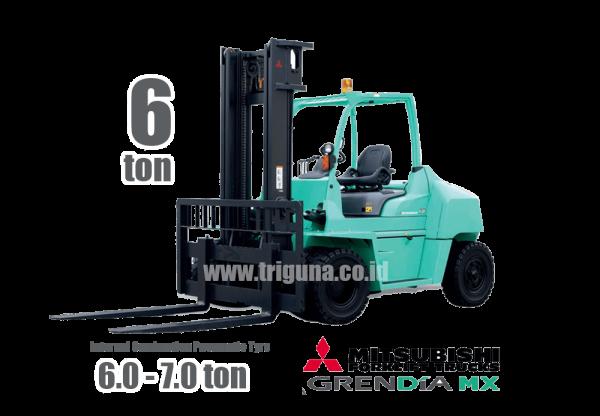 Forklift Mitsubishi 6 ton