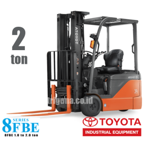 Forklift Battery 2 ton TOYOTA 8FBE20