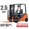 forklift toyota battery 8fbn 2.5 ton