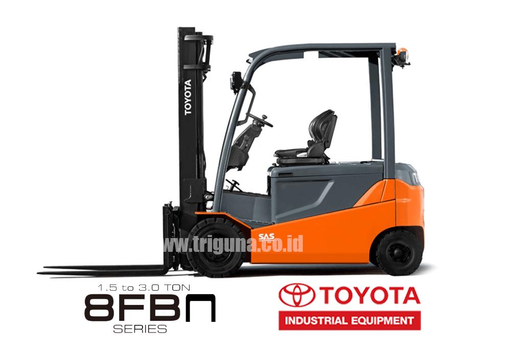Forklift Electric / Battery Seri 8FBN