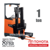 Reach Truck 1 ton Toyota 8FBR10