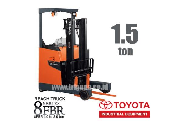 Reach Truck 1.5 ton Toyota 8FBR15