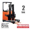Reach Truck 2 ton TOYOTA 8FBR20