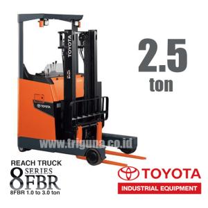 Reach Truck 2.5 ton TOYOTA 8FBR25