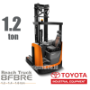 Reach Truck 1.2 ton Toyota 8FBRE12