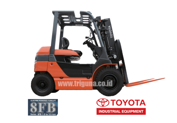 forklift toyota battery 8fb30