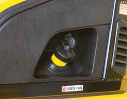 Key-locking fuel cap