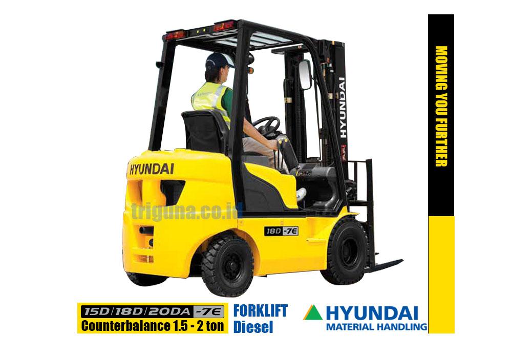 Hyundai Forklift 15D/18D/20DA-7E_belakang