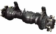 Highly durable drive axle