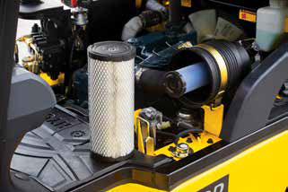 Easy change air cleaner
